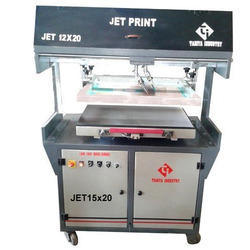 Jet Flat Screen Printing Machine