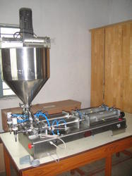 Single Head Pneumatic Filler Machine