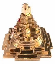 Brass Siddh Meru Shree Yantra