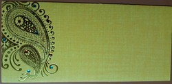 Rectangular Wedding Cash Card Envelops