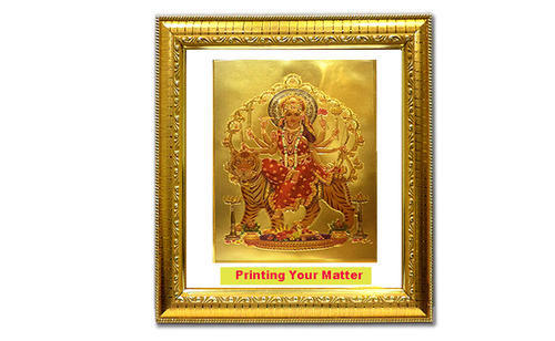 Double Glass Gold Plated Mix God Framed God Frame धरमक