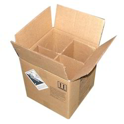 Kraft Paper Rectangle 9 Ply Corrugated Box, For Packaging