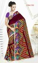 Printed Lace Saree