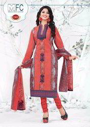 75e54b56be Plain Multicolor Jetpur Cotton Dress Material, Rs 385 /piece | ID ...