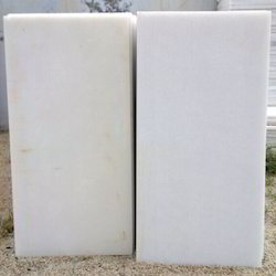 RMS White Makrana Marble Tiles, Thickness: 5 To 25 mm, Application Area: Flooring
