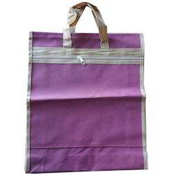 Purple Polyester Shopping Bag