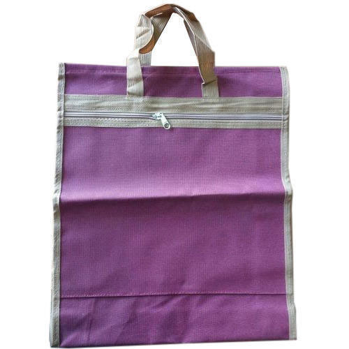 9b1feeef2d Purple Polyester Shopping Bag