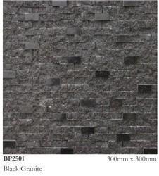 Black Granite Stone, Thickness: 20-30 mm, BP2501