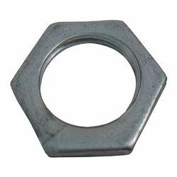 Hexagonal High Tensile Steel Lock Nut, Size: 15 Mm