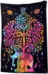 Kavita Prints Cotton Mandala Tapestry Indian Wall Hanging, Size(cm): Upto 250 X 280