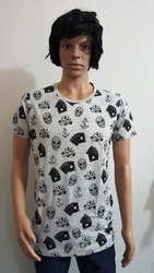 Men Four Fashion Casual T Shirt, Size: Large