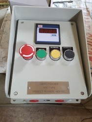 Single <2000 Rpm Push Button VFD motor control station, For Industrial, 220 V