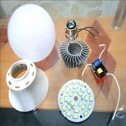 9W LED Bulb Raw Material