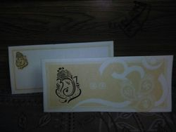 Paper Single Fold Insert Wedding Cards