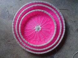 Chinese Pink Basket