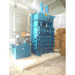 Coconut Fiber Baling Machine