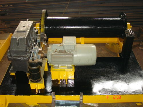 Electric Wire Rope Winch Machine - Electric Power Winch Machine