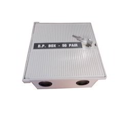 Stainless Steel Rectangular 50 Pair DP Box