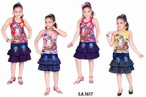 b9c21d745074b Designer Girls Top Skirt at Rs 200  piece(s)