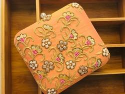Designer Zari Work Evening Clutches