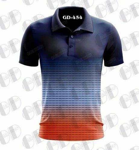 7da6702cb Sport T-Shirt - Navy Blue Sublimation T Shirt Manufacturer from Mumbai