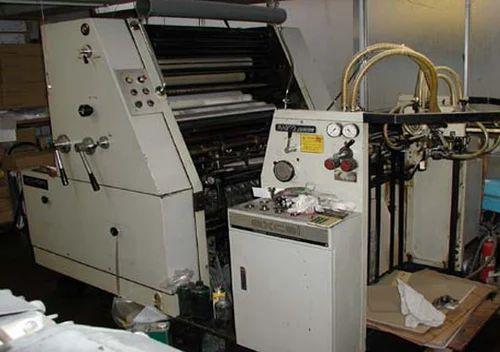automatic komori l 32 single colour offset machine usage paper rh indiamart com Poster Printing Machine Digital Printing Machine