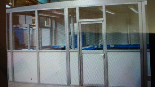 Manufacturer of Aluminum Partition Work & Thermocol Ceiling by