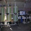 Semi-automatic Containerized Water Treatment Plant