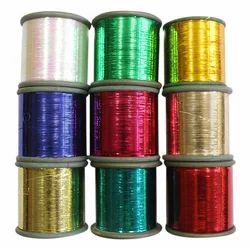 M Type Zari Badla Metallic Yarn