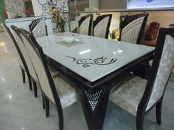 Fancy Marble Top Dining Table Set, Marble Top Dining Table - Shree Ji  Furniture, Noida | ID: 10835009097
