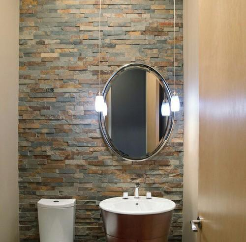 natural wall covering stone tiles for bathroom thickness
