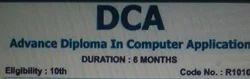 DCA Diploma