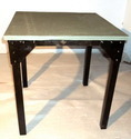Wooden Iron Table