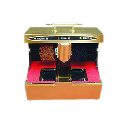 Shoe Shining Machine With Sole Cleaner
