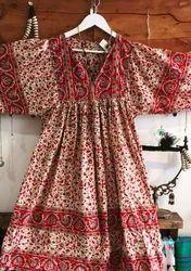 Ethnic Wear Custom Indian Bohemian Dresses, Handwash