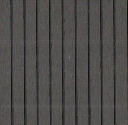 Dark Grey-Big Grooves WPC Decking for Outdoor, Size/Dimension: 2200 x 150 x 25mm
