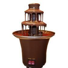 Mini Chocolate Fountain Machine