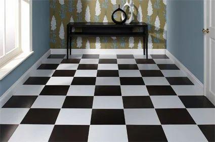 Matte Finish Chequered Tiles Plain Checkered Tiles