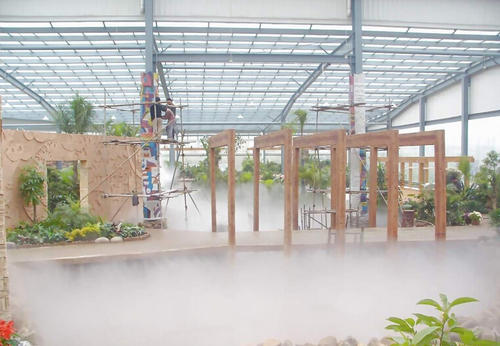 Outdoor Cooling System Mist Cooling System आउटडोर कूलिंग