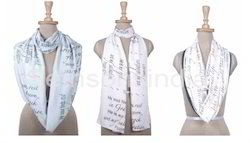 Printed Female Religious Scarves, Packaging Type: Polybag
