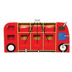 School Bus Book Rack for Play School