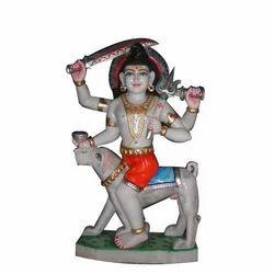 Bhairav Ji Marble Statue