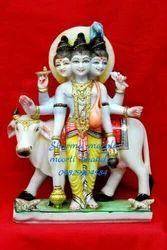 Dutta Bhagvan Marble Moorti