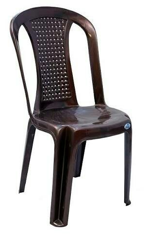 Brown Nilkamal Chairs 48 Model Rs 48 Piece Nakoda Enterprises Interesting Ids Furniture Model