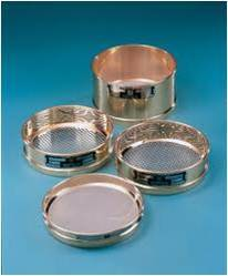 Brass Sieves 200mm dia :- 90mic, 75mic