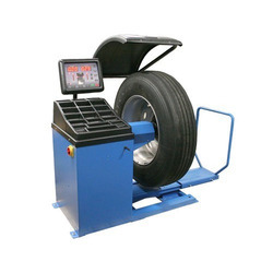 industrial truck wheel balancer