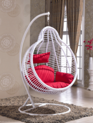 Pear Style Outdoor Wicker Hanging Chair