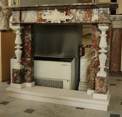 Decorative Marble Fireplace