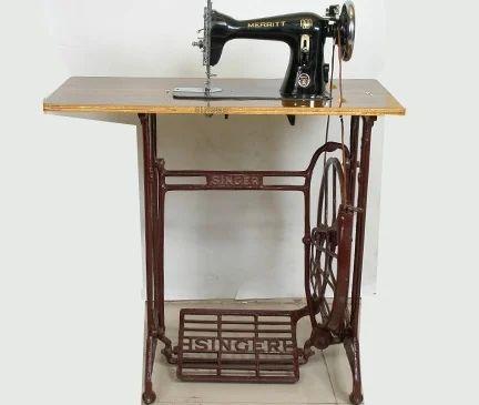 Singer Straight Stitch Sewing Machine Usha Anand Table Sewing New Usha Manual Sewing Machine