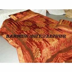 Printed Velvet Bed Cover